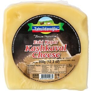 TAHSILDAROGLU AGED GOAT KASHKAVAL 350G VAC PACK