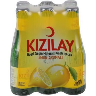 Kizilay Mineral Water with Lemon 6x250ml (Afyon)