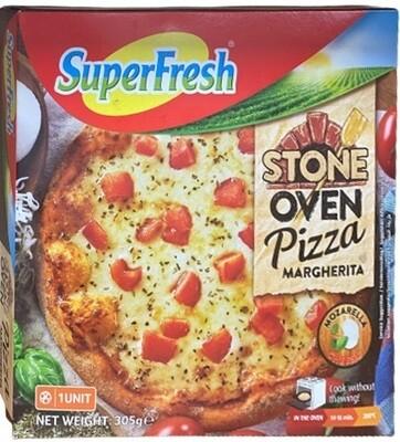 SUPERFRESH STONE OVEN PIZZA MARGHERITA 305GR  (Frozen)