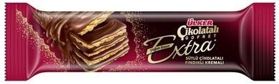ULKER CHOCOLATE WAFER EXTRA HAZELNUT 45GR