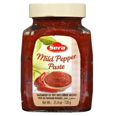 SERA Mild pepper paste 720GR Biber Salca