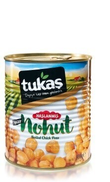 TUKAS BOILED CHICKPEAS 830 GR CAN