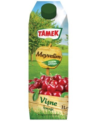 Tamek Visne Sour Cherry Meyvelim nectar 1LT