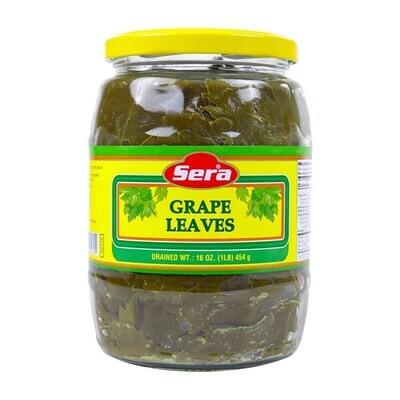 Sera  GRAPE LEAVES JAR (16 OZ)454GR