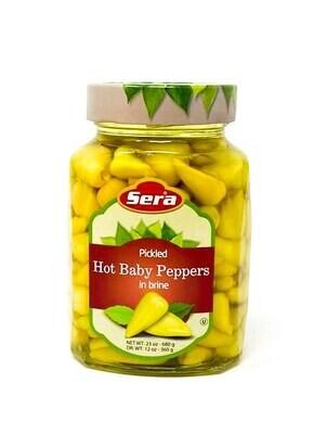 Sera  Biberiye Turşusu Peppers Pickles Isot 680ml