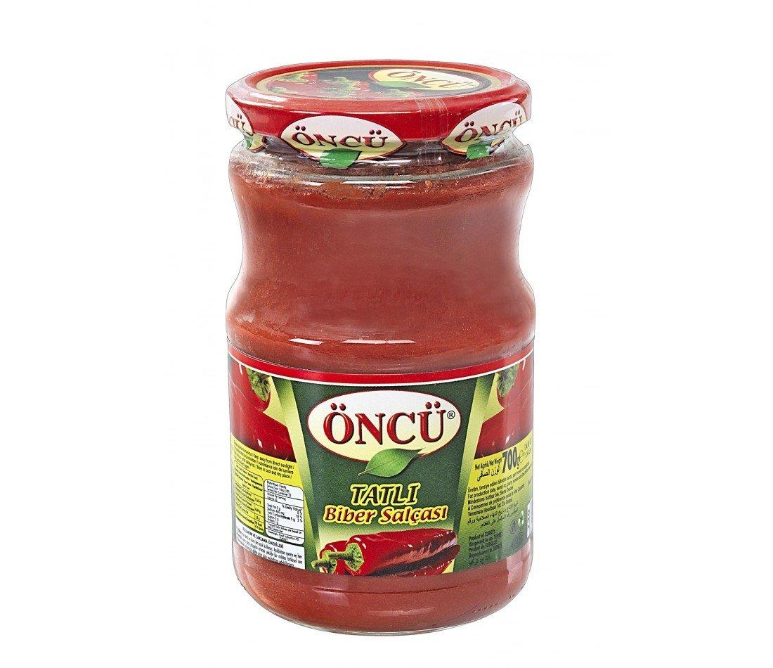 Oncu Mild (Sweet) Pepper Paste 700ml