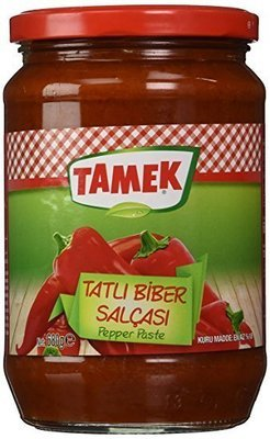 TAMEK PEPPER PASTE SWEET 550GR GLASS