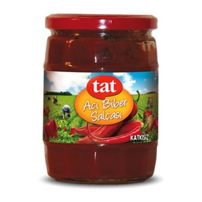 TAT Hot Pepper Paste 580ml High Quality