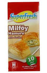 SUPERFRESH Milfoy Pastry 500gr (Frozen)