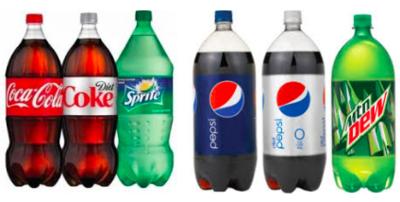 Soda Bottles 1lt Pick your kind