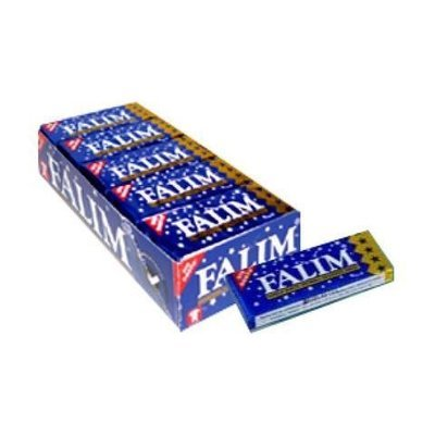 DANDY FALIM PLAIN GUM  5 Pcs x 15 Box