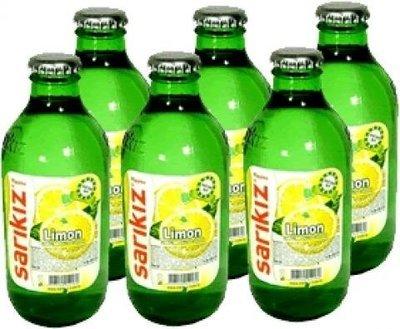 Sarikiz Mineral Water with Lemon 250ml X 6