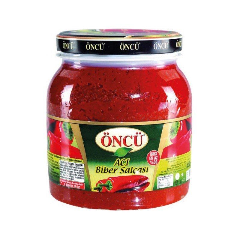 Oncu Hot  Spicy  Pepper Paste 1650gr