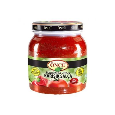 Oncu Tomato and  Pepper Mixed Paste 1650gr