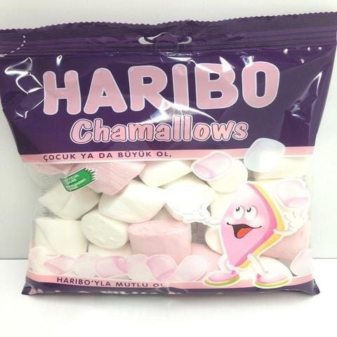 Haribo  American Halal Marshmallow Strawberry Vanilla