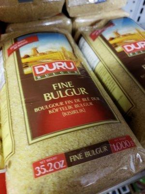 Duru Fine Bulgur kisirlik ve cig koftelik 1KG