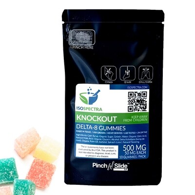 IsoSpectra Delta-8 Knockout Gummies