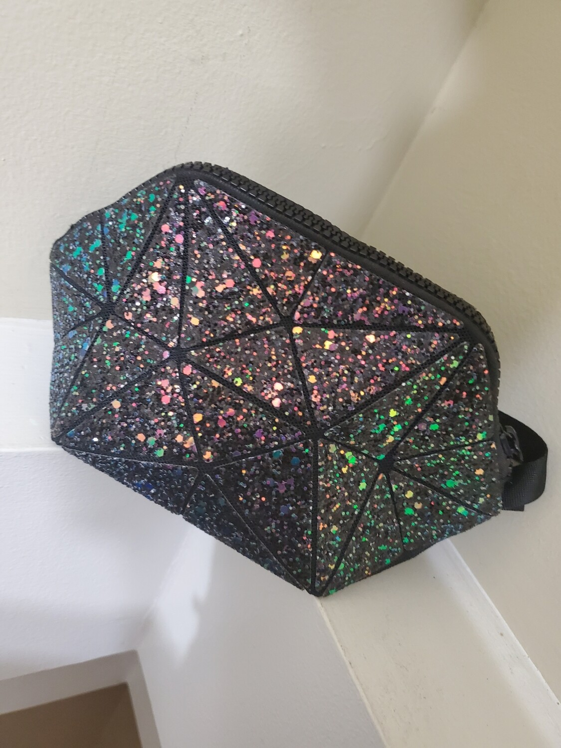 Diamond Glitter Makeup Bag