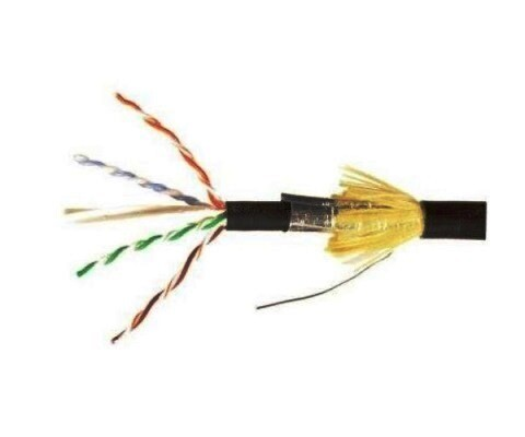 9A6O4-A5-01-R1A CABLE CAT6A 1000FT F/UTP PE AWG23 OUTDOOR SIEMON