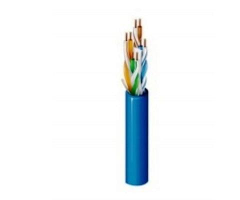 2412 008U1000 Cable CAT6+ 1000FT AWG23 PVC U/UTP Ricer-CMR Blue Belden