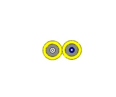 B9W002 CABLE F.O. 2 FIBER SM 9/125  reel 774 MTRS BELDEN