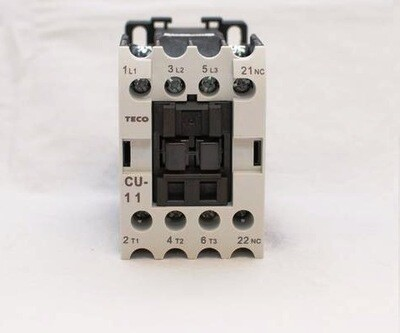 CU-11 magnetic contactor, 24V coil 3A1b N/C (Replaces TAIAN CN-11)
