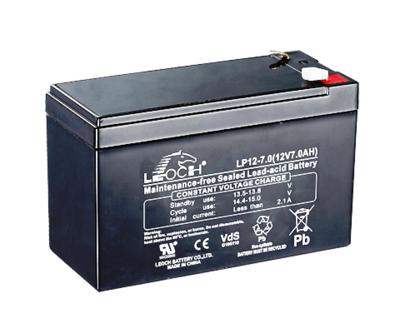 LP12-7 Battery LP 12V 7.0AH L(5.95 inches) x W(2.54 inches) x T H(3.90 inches) Weight 4.98LBS LEOCH