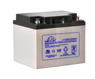 LPX12-38 Battery LP 12V 36.6AH L(7.76 inches) x W(6.50 inches) x T H(6.69 inches) Weight 23.2LBS LEOCH