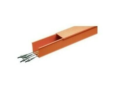 S4X4OR6NM FiberDuct 4x4 channel orange Panduit