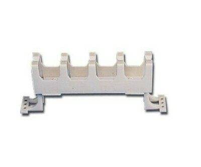 S110A1RMS Organizer Horizontal wall mount single-sided S110/S210 no cover 1U white Siemon