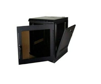 "WM2019-11-02 Cabinet Wallmount 11U 18awg 21""W x 20""D x 23""H for 200 series black Quest"