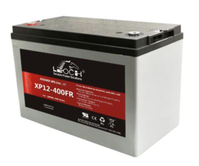 XP12-400 Battery LP 12V 100.0AH L(13.7 inches) x W(6.57 inches) x T H(7.01 inches) Weight 46.7LBS LEOCH