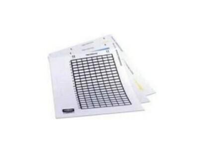 XPLPP10W Label for patch panel laser (sheet 1440PTO) white pk10 Hubbell