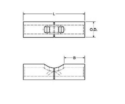 YSV6CL Compression Splice, AN 6, 1.12