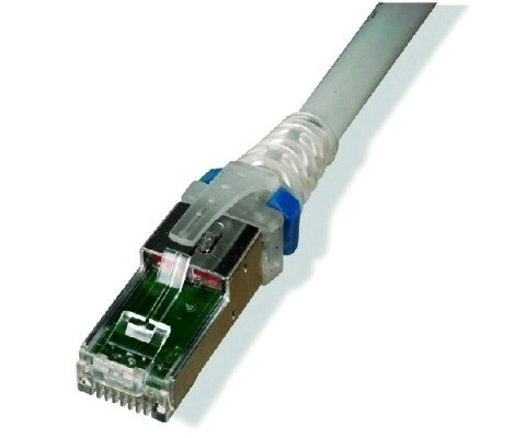 ZM6A-S03-02  Patch cord ZMAX CAT6A 3FT shielded S/FTP CM/LSOH white clr boot Siemon