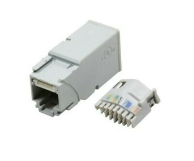 Z6-PB  Jack CAT6 for use with patch panel T568A/B PK100 Siemon