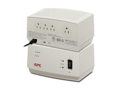 LE600 Regulator Line-R 600VA automatic voltage (in NEMA 5-15P) APC