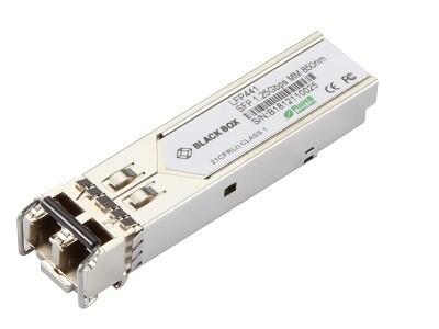 LFP441 Transceiver SFP 1.25-Gb, 850-nm Multimode Fiber, 550-m, LC Blackbox