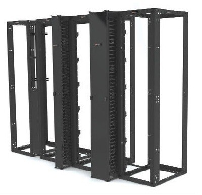 RSQ1-07C-S Rack 4 Post 7ft H x 19