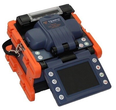 FSP200KIT2 Optical fusion splicer with FCL200 optical fiber cleaver and fiber optic stripper (an extra battery) Tempo