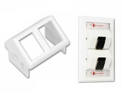 CTE-MXA-02-02 Module 2 PTO tera for CT faceplate and Mutoa white Siemon