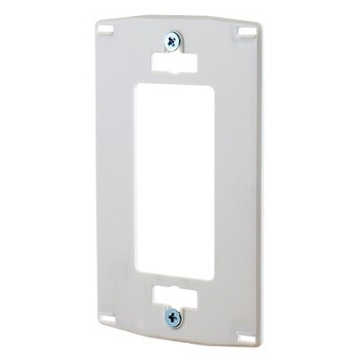NPS26W Faceplate 1 gang decorator polycarbonate White Hubbell
