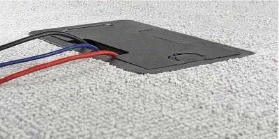 24GCCVRBK Cover for CFB4G30CR black Hubbell