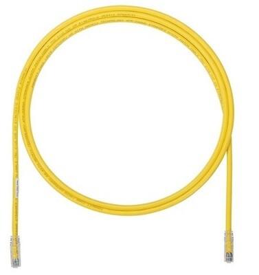 UTP6A10YL Patch cord CAT6A 10FT UTP TX6A 10G yellow Panduit