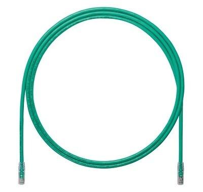 UTP6A10GR Patch cord CAT6A 10FT UTP TX6A 10G Green Panduit