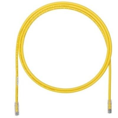 UTP6A1YL Patch cord CAT6A 1FT UTP TX6A 10G yellow Panduit