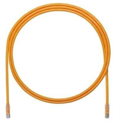 UTP6A1OR Patch cord CAT6A 1FT UTP TX6A 10G orange Panduit