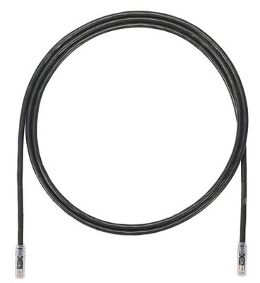 UTP6A3BL Patch cord CAT6A 3FT UTP TX6A 10G black Panduit