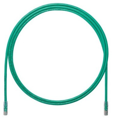 UTP6A3GR Patch cord CAT6A 3FT UTP TX6A 10G Green Panduit