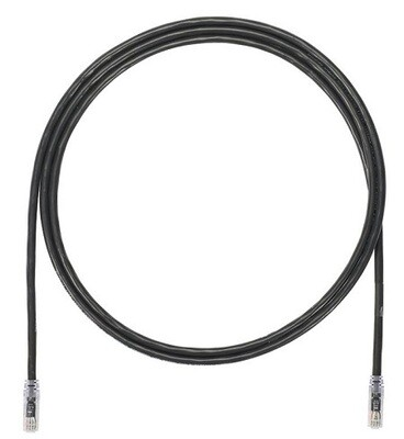 UTP6A5BL Patch cord CAT6A 5FT UTP TX6A 10G black Panduit